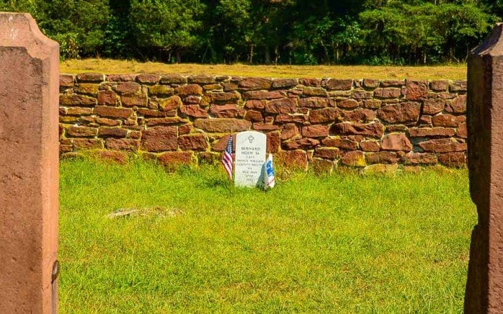 hooe family cemetery - manassas national battlefield park
