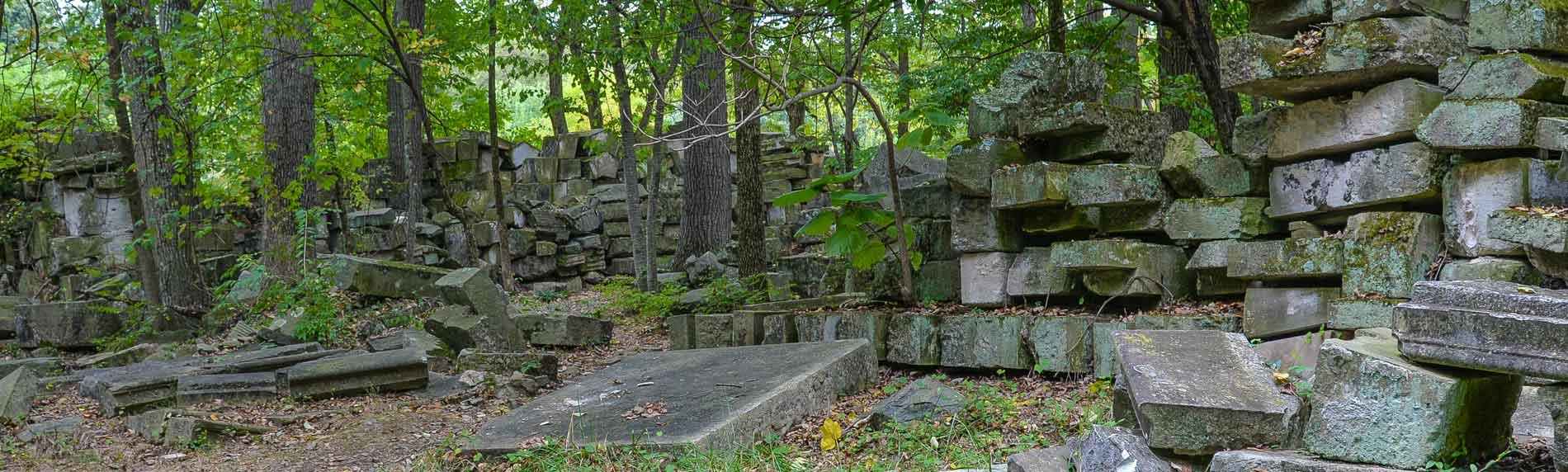 us capitol remains in rock creek park washington dc