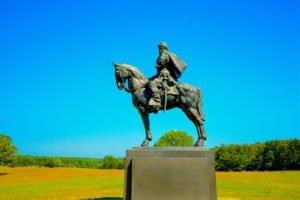 Stonewall Jackson Statue - Manassas National Battlefield Park