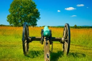 Cannon On The Battlefield - Manassas National Battlefield Park