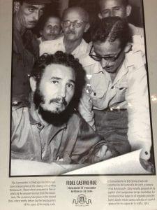 A book cover showing Fidel Alejandro Castro Ruz.