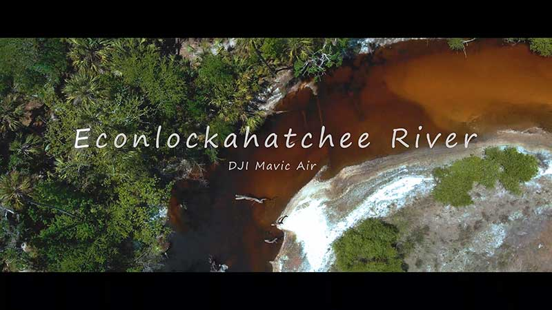 Flying Over The Econlockahatchee River With A DJI Mavic Air Drone