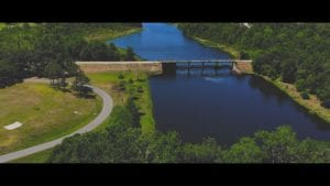DJI Mavic Air Flying Over Blanchard Park In Orlando