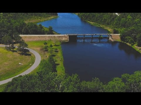 DJI Mavic Air Flying Over Blanchard Park In Orlando