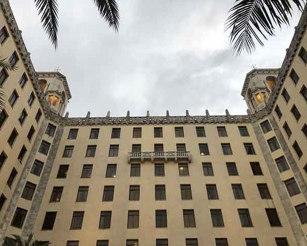 The Hotel Nacional de Cuba (National Cuban Hotel)