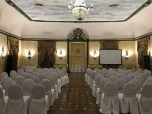 A current picture of the Wilbur Clark Casino in the Hotel Nacional de Cuba