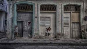 Woman-Standing-on-Streen-In-Old-Havana-Cuba