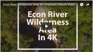 econ river wilderness area cinematic 4k nature video