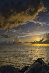 honeymoon island state park sunset