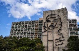 Revolution Square or Revolution Plaza in Cuba